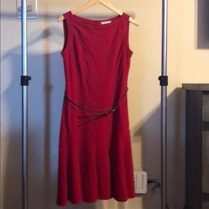 Size 8 red dress
